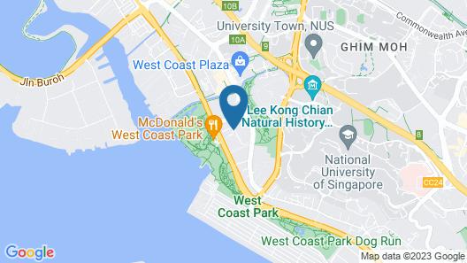Oasia Residence Singapore Map