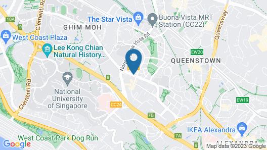 Citadines Fusionopolis Singapore Map