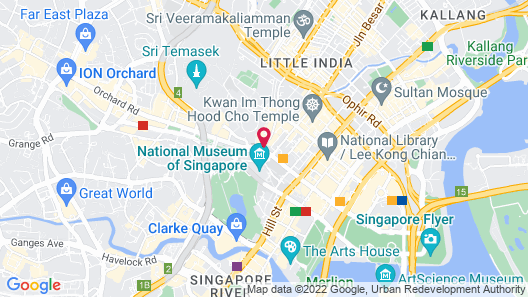 Rendezvous Hotel Singapore (SG Clean) Map