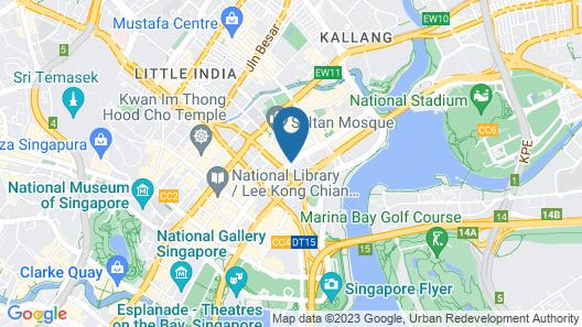 PARKROYAL Serviced Suites Singapore Map