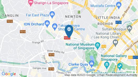 JEN Singapore Orchardgateway by Shangri-La (SG Clean) Map