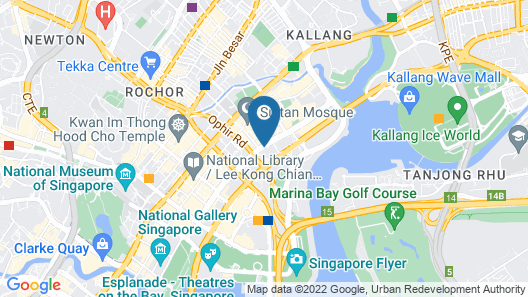 PARKROYAL on Beach Road (SG Clean) Map