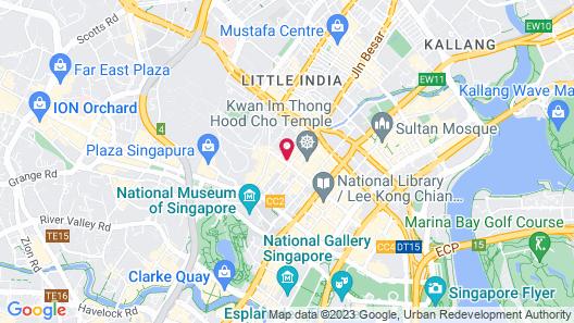 Hotel G Singapore (SG Clean) Map