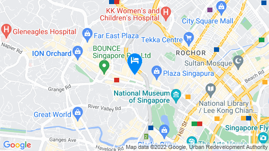 Hotel Grand Central (SG Clean, Staycation Approved) Map