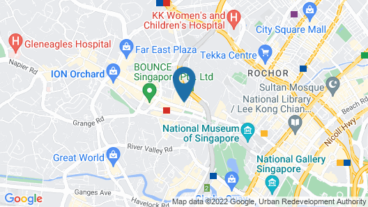 Orchard Point Serviced Apartments Map