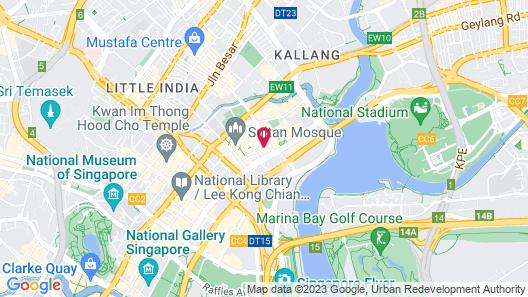 RedDoorz Hostel @ Bugis Map