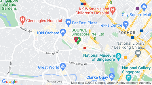 Mandarin Orchard Singapore (SG Clean) Map