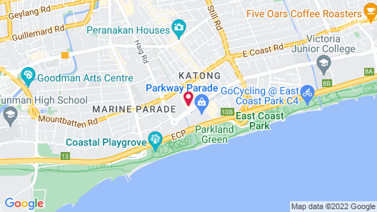 Village Hotel Katong by Far East Hospitality (SG Clean) Map