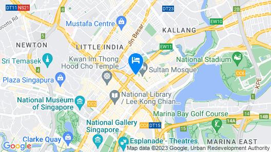 Village Hotel Bugis by Far East Hospitality (SG Clean) Map
