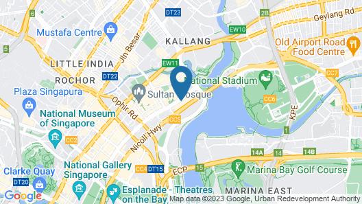 Destination Singapore Beach Road (SG Clean) Map