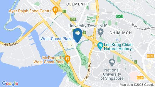 Village Residence West Coast Map