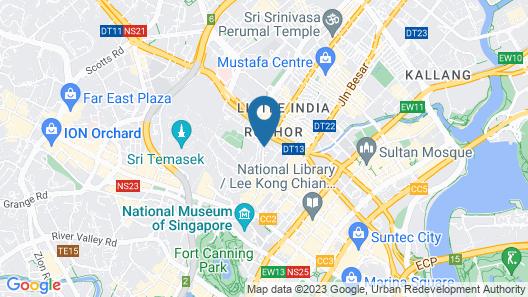 ibis budget Singapore Selegie (SG Clean) Map