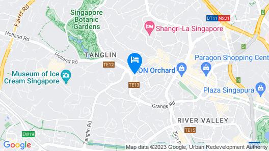JEN Singapore Tanglin by Shangri-La (SG Clean) Map