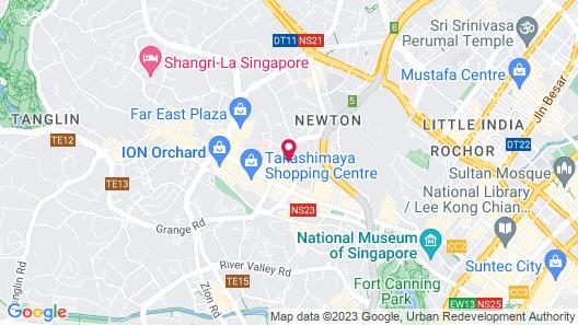 Ascott Orchard Singapore (SG Clean) Map