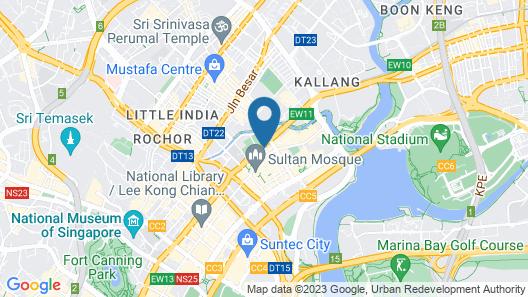 XY HOTEL BUGIS by ASANDA (SG Clean) Map
