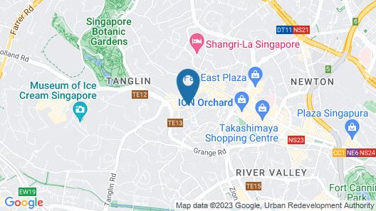 Regent Singapore (SG Clean) Map