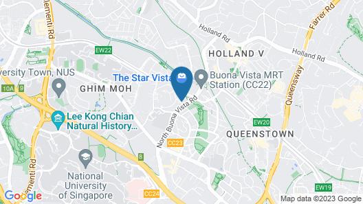 Park Avenue Rochester (SG Clean) Map