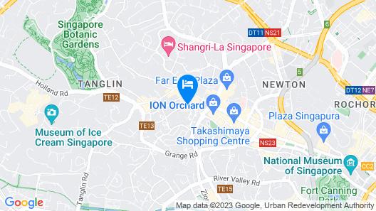 Four Seasons Hotel Singapore (SG Clean) Map