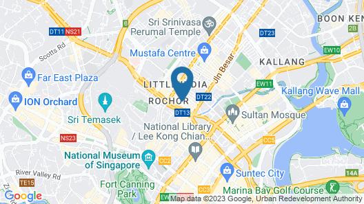 Campbell Inn (SG Clean) Map