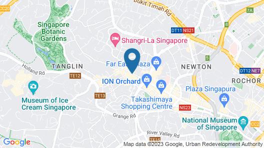 Hilton Singapore (SG Clean) Map