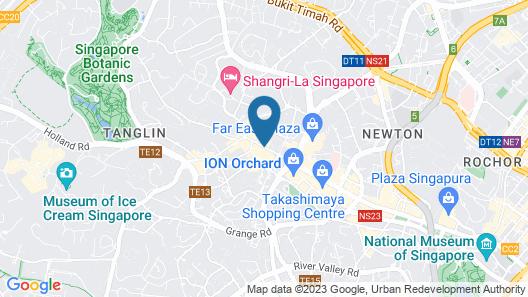 Hilton Singapore Map