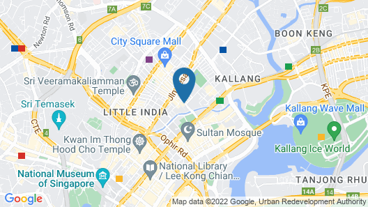 The Vagabond Club, Singapore, a Tribute Portfolio Hotel Map