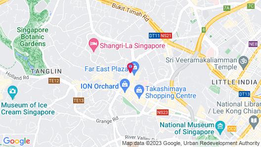 Far East Plaza Residences Map