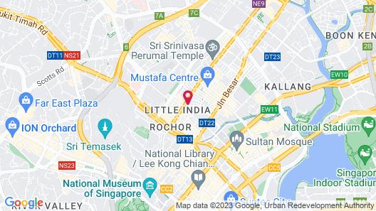 RedDoorz Premium @ Serangoon (SG Clean) Map