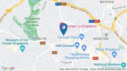 Treetops Executive Residences Map