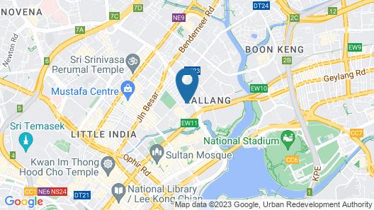 ibis budget Singapore Imperial (SG Clean) Map