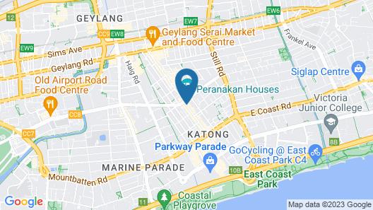 Venue Hotel (SG Clean) Map