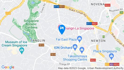 Shangri-La Apartments Map