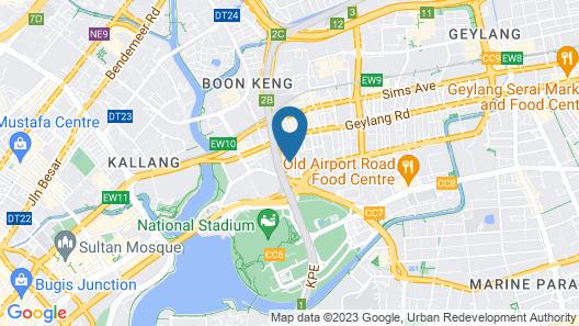K Hotel Map