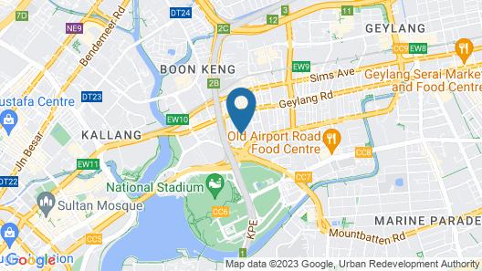 Hotel 81 (Premier) Hollywood (SG Clean) Map