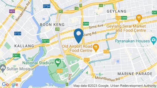 ibis budget Singapore Crystal Map