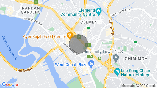 2 Bedroom Apartment, Clementi Map