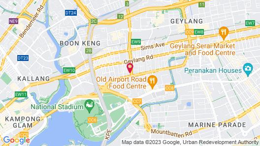 RedDoorz @ Aljunied (SG Clean) Map