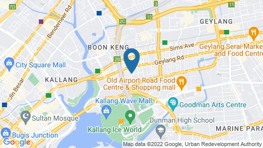 Hotel 81 Orchid (SG Clean) Map