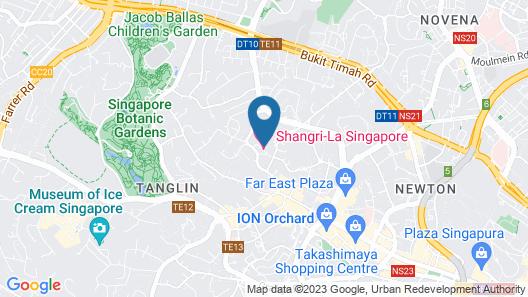 Shangri-La Singapore (SG Clean) Map