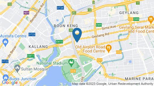 ibis budget Singapore Emerald Map