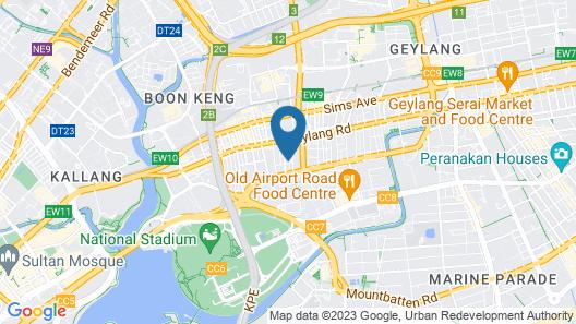 RedDoorz @ Geylang (SG Clean) Map