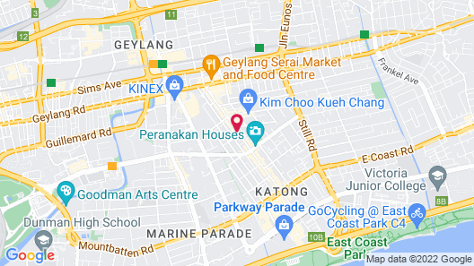 Venue Hotel - The Lily (SG Clean) Map