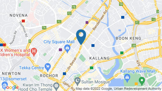 The Noble Hotel (SG Clean) Map