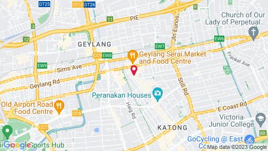 Champion Hotel (SG Clean) Map