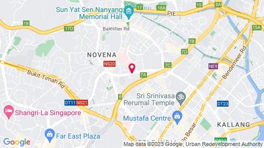 ST Residences Novena Map