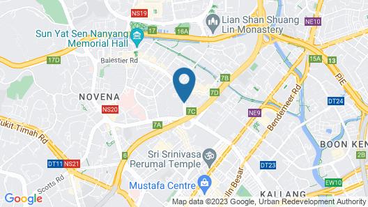 Value Hotel Balestier Map