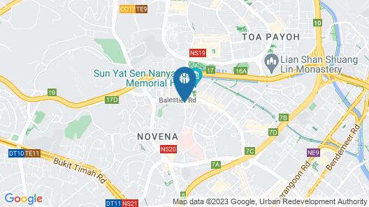 ibis Singapore Novena (SG Clean) Map