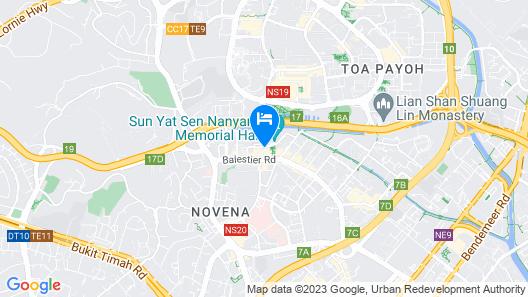 Ramada by Wyndham Singapore at Zhongshan Park (SG Clean) Map