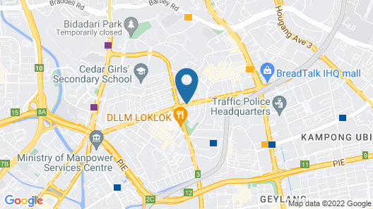 ibis Styles Singapore On Macpherson Map