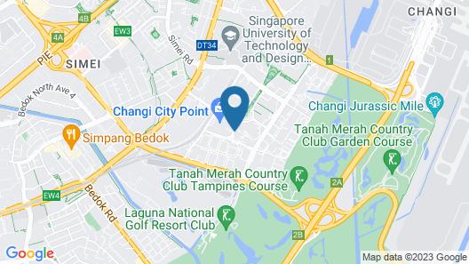Capri by Fraser Changi City, Singapore (SG Clean) Map